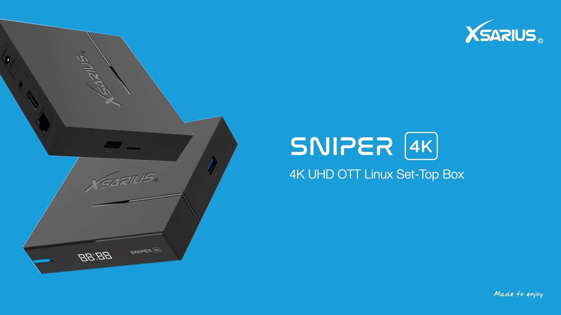 New: Xsarius Sniper 4K